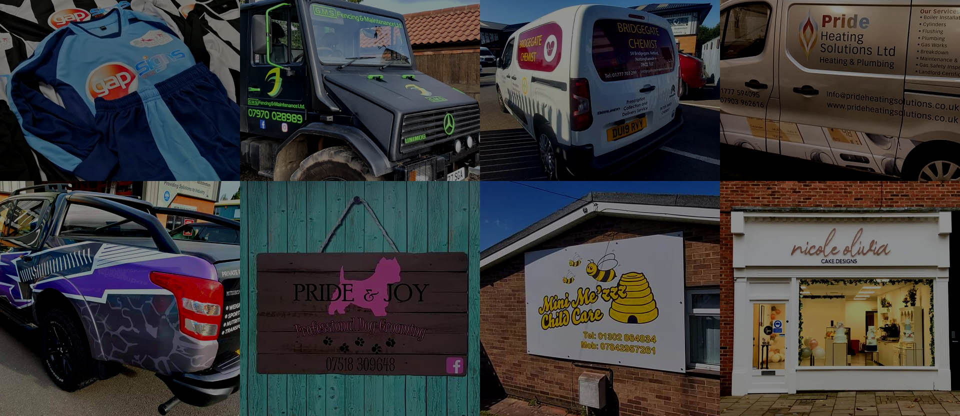 Print and Signage Solutions in Retford and throughout the UK